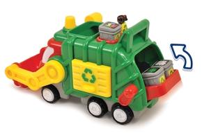 Fred et son camion poubelle