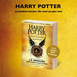 gallimard harry potter et l'enfant maudit vf